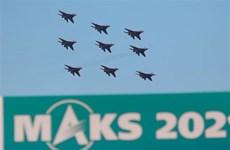 [Photo] Bế mạc triển lãm hàng không vũ trụ quốc tế MAKS-2021