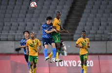 Nhật Bản vẫn là lá cờ đầu của bóng đá châu Á tại Olympic