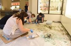Bảo tàng Anh phục dựng các cổ vật hư hại trong vụ nổ tại Beirut