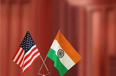 """Ấn Độ, Mỹ mở rộng phạm vi hoạt động trong """"Hợp tác tam giác"""""""
