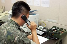 Triều Tiên lần đầu phản hồi Hàn Quốc qua sóng vô tuyến chung