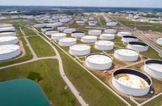 Dự trữ dầu thô của Mỹ sụt giảm trong nửa cuối tháng Bảy