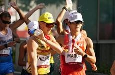 Bộ huy chương cuối cùng trong lịch sử môn đi bộ 50km nam tại Olympic