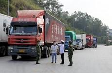 Thông tin chính thức về tình hình thông quan tại cửa khẩu Tân Thanh