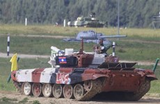Khai mạc hội thao quân sự quốc tế Army Games 2021 tại Nga