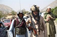 Taliban đã triển khai lực lượng quanh sân bay Kabul chờ tiếp quản