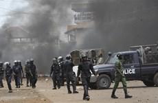 Đấu súng dữ dội tại trung tâm thủ đô Conkary của Guinea