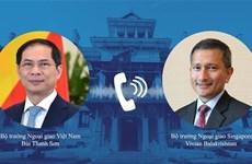Bộ trưởng Bùi Thanh Sơn đề nghị Singapore hỗ trợ vaccine
