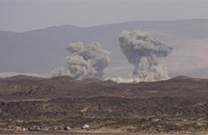 Liên quân Arab tấn công các vị trí quân sự của Houthi ở Yemen