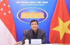 """""""Việt Nam mong muốn Singapore hỗ trợ vaccine sớm nhất có thể"""""""