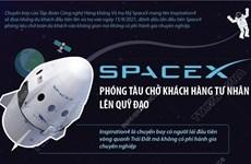 Chuyến bay Inspiration4 đưa những du khách đầu tiên vào không gian