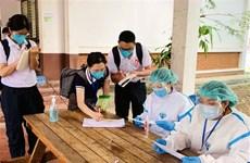 Số ca nhiễm mới COVID-19 trong cộng đồng tại Lào tăng vọt