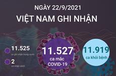 Việt Nam ghi nhận hơn 11.500 ca mắc mới COVID-19 trong 24 giờ