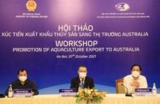 Nhiều cơ hội xuất khẩu thủy sản sang thị trường Australia