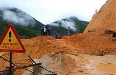 Lai Châu: Sạt lở khu vực cửa hầm thủy điện, 2 công nhân thiệt mạng