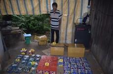 Bình Phước: Tạm giữ hình sự đối tượng tàng trữ pháo nổ trái phép