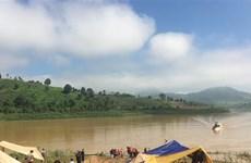 Khẩn trương tìm kiếm 2 nạn nhân đuối nước ở hồ thủy điện Plei Krông