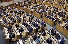 Duma Quốc gia khóa mới của Nga họp phiên toàn thể đầu tiên