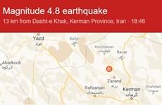 Iran: Động có độ lớn 5,1 làm rung chuyển khu vực Yazdanshahr