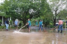 Hội Chữ thập đỏ hỗ trợ khẩn cấp cho người dân Quảng Bình sau mưa lũ