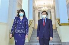 Thúc đẩy quan hệ hữu nghị, hợp tác giữa hai nước Việt Nam-Romania
