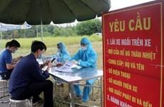 Phú Thọ khoanh vùng chống dịch, đảm bảo hàng hóa thiết yếu