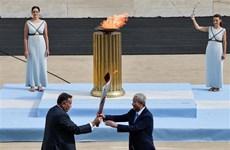 Ngọn đuốc Thế vận hội mùa Đông Bắc Kinh 2022 đã tới Trung Quốc