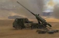 Trung Quốc triển khai cả trăm pháo tự hành tới biên giới với Ấn Độ