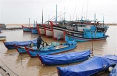 Phú Yên hướng dẫn tàu cá vùng nguy hiểm vào nơi tránh trú an toàn