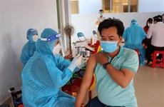 Tỉnh Tiền Giang đẩy nhanh tiến độ tiêm vaccine phòng COVID-19