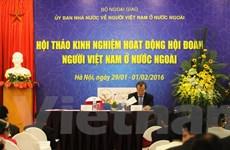 Nâng cao hiệu quả công tác vận động người Việt ở nước ngoài
