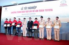 Cảnh sát giao thông được nâng cao kỹ năng và ý thức lái xe an toàn