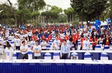 [Video] Hàng ngàn bạn trẻ tham gia Ngày sở hữu trí tuệ thế giới
