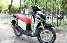 Cận cảnh chiếc xe máy Honda SH150i độ có giá gần 800 triệu đồng