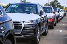 Loạt siêu xe Audi cập cảng Việt Nam để phục vụ cho APEC 2017