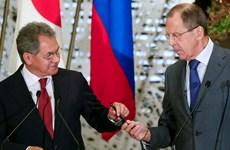 Hai Bộ trưởng Ngoại giao, Quốc phòng Nga thăm Ai Cập