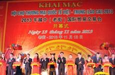 Khai mạc Hội chợ Thương mại Quốc tế Việt-Trung
