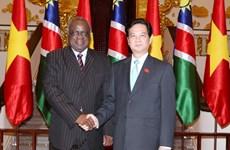 Thủ tướng Chính phủ hội kiến với Tổng thống Namibia