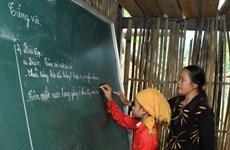 Hiệu quả từ dự án đào tạo giáo viên người dân tộc thiểu số
