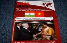 Tạp chí Ấn Độ ra số đặc biệt về quan hệ Việt Nam-Ấn Độ