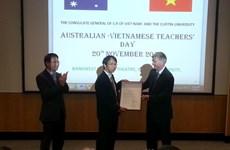 Học sinh, sinh viên Việt ở Australia tri ân thầy, cô giáo