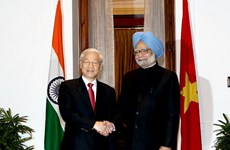 Diễn văn của Thủ tướng Ấn Độ chào mừng Tổng Bí thư