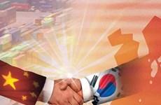 Trung Quốc-Hàn Quốc kết thúc vòng đàm phán 8 về FTA