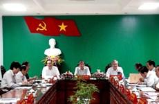 Đoàn công tác Trung ương làm việc với Tỉnh ủy An Giang