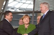 CDU/CSU và SPD ký Hiệp ước liên minh cầm quyền