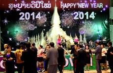 Người dân Lào sôi nổi hoạt động đón năm mới 2014
