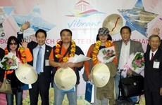TPHCM đón đoàn du khách quốc tế đầu tiên năm 2014