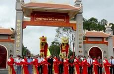 Cà Mau khánh thành khu tưởng niệm Hồ Chủ tịch