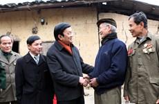 Chủ tịch nước thăm, kiểm tra vùng biên giới Lạng Sơn