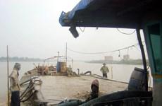 """Hưng Yên dẹp nạn """"cát tặc"""" trên sông Hồng, sông Luộc"""